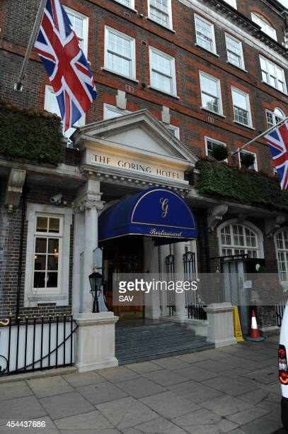 The Goring Hotel Goring Hotel on August 31 2014 in London England
