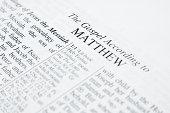 Bible - Matthew.