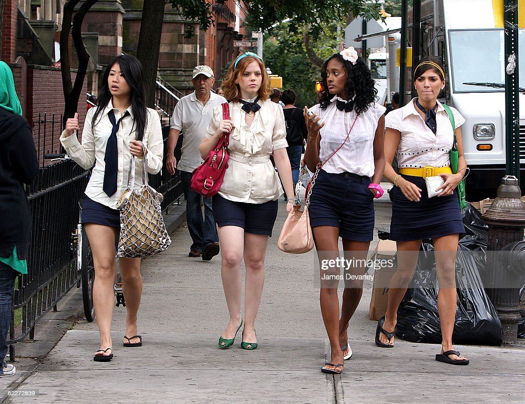 On location august 11 2008 in the brooklyn borough of new york city