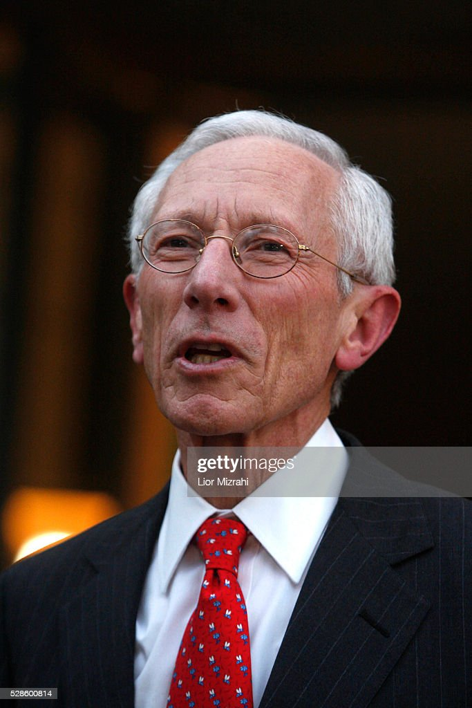 The Governor of the Central Bank of Israel, <a gi-track='captionPersonalityLinkClicked' href=/galleries/search?phrase=Stanley+Fischer&family=editorial&specificpeople=233518 ng-click='$event.stopPropagation()'>Stanley Fischer</a>, is seen during a conference on May 19, 2009 in Jerusalem, Israel.