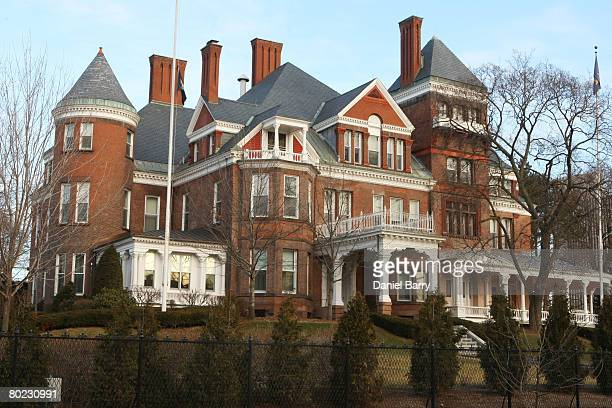 The Governor's Mansion is seen March 13 2008 in Albany New York David Paterson will become New York's Governor on Monday following Gov Eliot...
