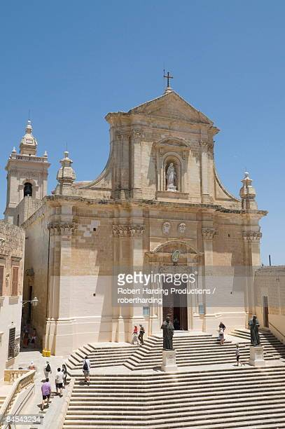 The Gozo Cathedral inside the Citadel, Victoria (Rabat), Gozo, Malta, Europe