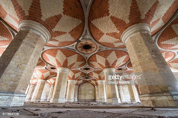 The Grade II listed Victorian Crystal Palace Subway that is hidden under the A212 road at Crystal Palace on March 23 2016 in London England 'Friends...