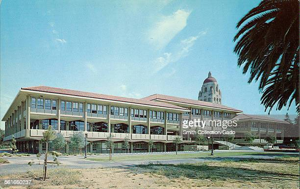 The Graduate School of Business building at Stanford University California 1945