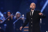 The Graf and Band Unheilig perform during the 18th Annual Jose Carreras Gala Rehearsals on December 13 2012 in Leipzig Germany