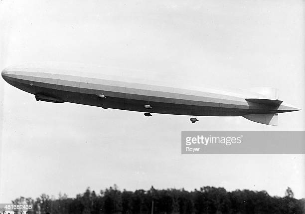 The 'Graf Zeppelin' dirigible