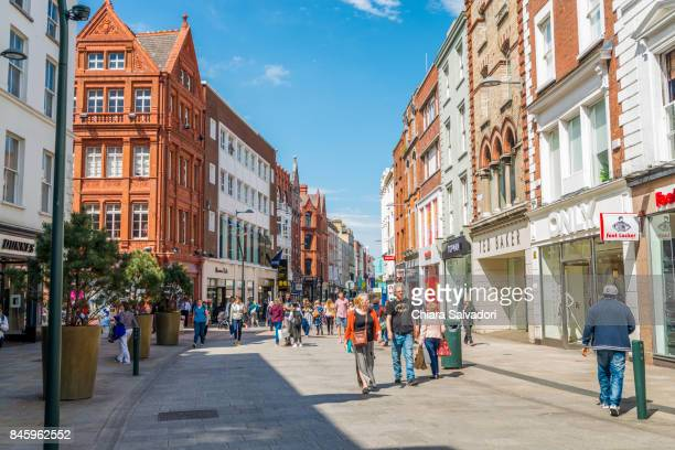 The Grafton Street in Dublin