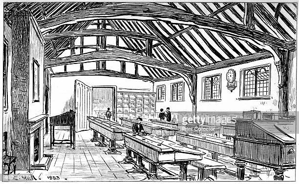 The grammar school StratforduponAvon Warwickshire 1885 From StratfordonAvon from the Earliest Time to the Death of William Shakespeare by Sidney L Lee