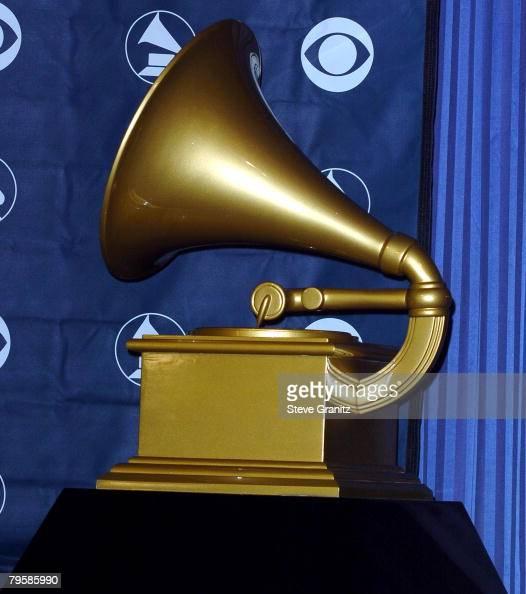 The Grammy Award statue