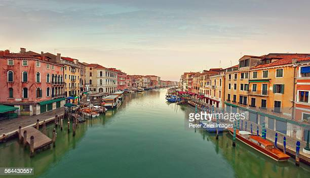 The Grand Canal in Venice in the morning