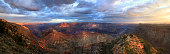 Panorama of the Grand Canyon From the South Rim