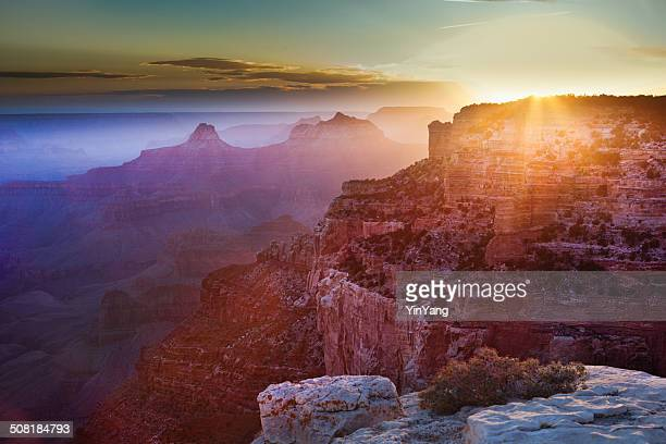 The Grand Canyon Sunrise Scenic Landscape