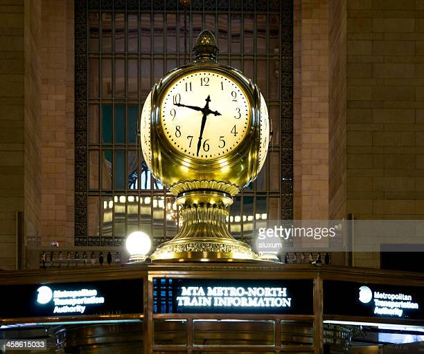 The Grand Central Terminal clock