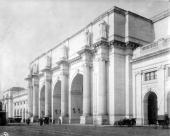The grand facade of Union Station Washington DC