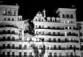 The Grand Hotel in Brighton after a bomb attack by the IRA 12th October 1984 British Prime Minister Margaret Thatcher and many other politicians were...