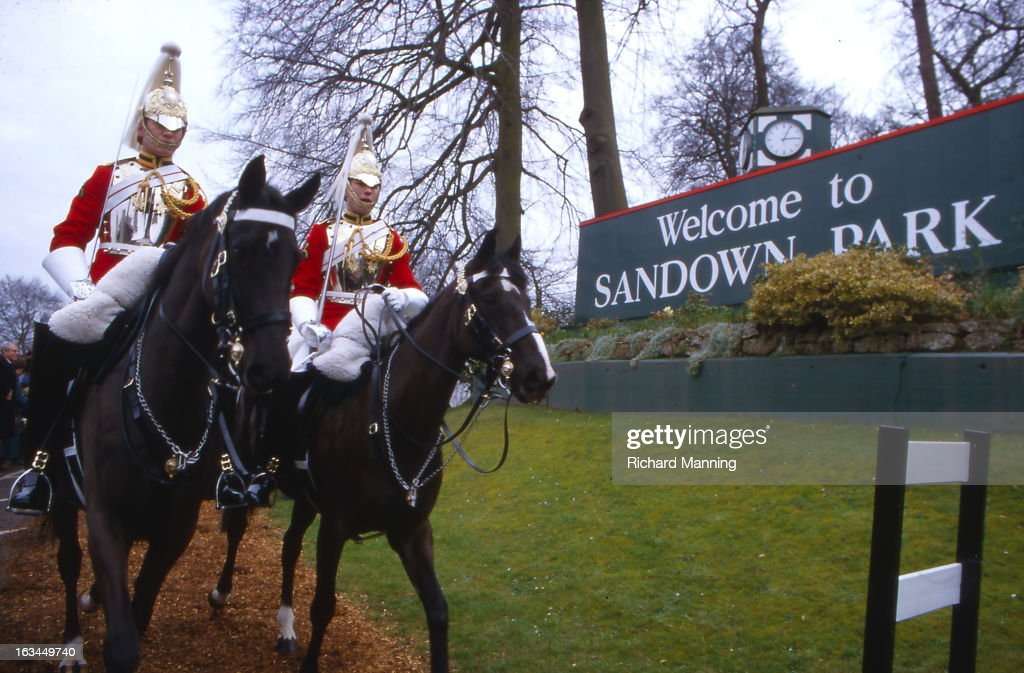 The Grand Military Gold Cup, held annually at Sandown Park Racecourse in Esher, Surrey. It is a meeting point for the Military, in particularly for Cavalry Officers, with its origins in the days when mounted Cavalry Officers still rode to war.