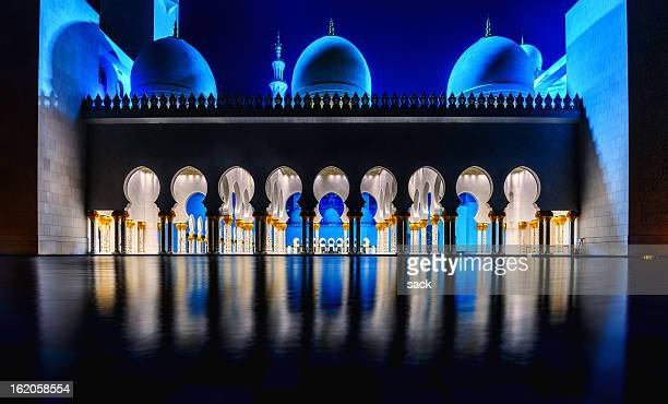 The Grand Mosque in Abu Dhabi (UAE)