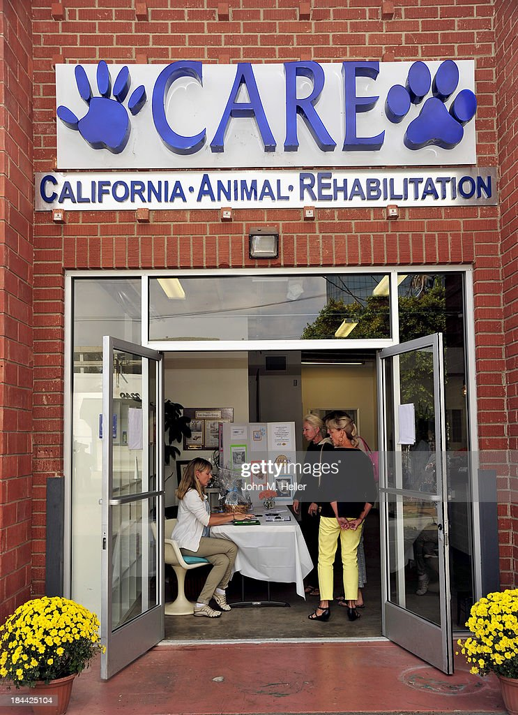 The grand opening of the California Animal Rehabilitation Center on October 13, 2013 in Los Angeles, California.