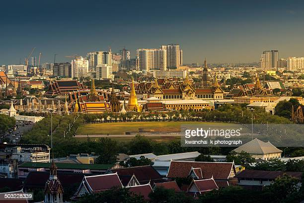 The Grand Palace and Emerald Buddha Temple