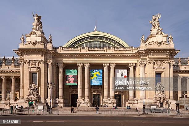 The Grand Palais in Paris, France