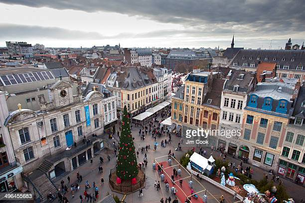 The Grand Place in Lille
