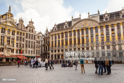 The Grand Place or Grote Mark in Brussels.