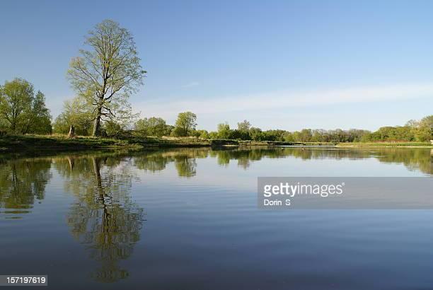 The Grand River, Kitchener, Ontario