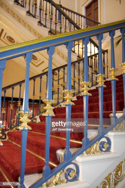 The Grand Staircase inside the Town Hall 1802 in Liverpool