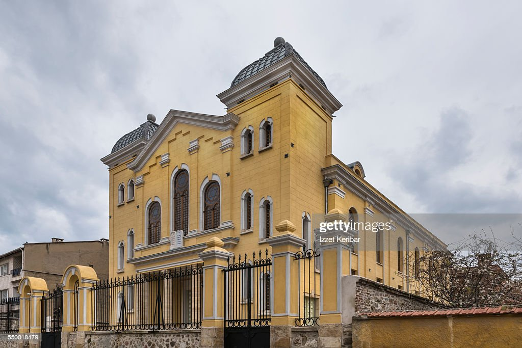 The Grand Synagogue Of Edirne Turkey Stock Photo  Getty ...