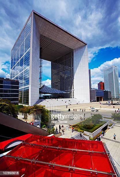 The 'Grande Arche' at La Defense.