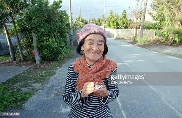 The grandmother who sells a shellfish