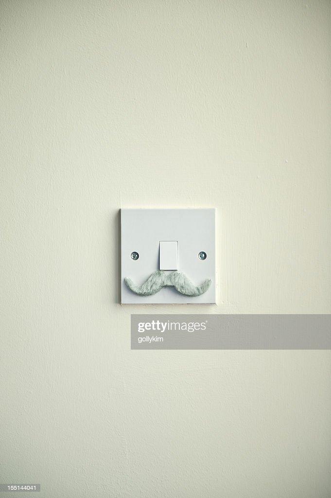 The Grandpa Mustache Light Switch