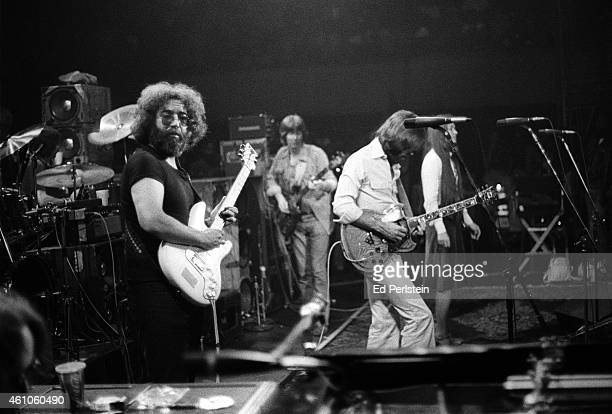 The Grateful Dead perform at Winterland on June 8 1977 in San Francisco California