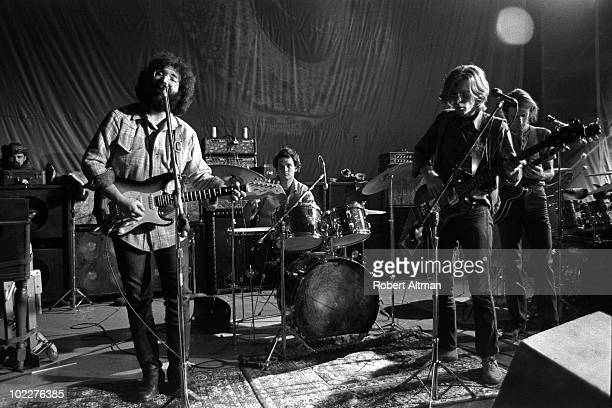 The Grateful Dead perform onstage at The Family Dog in Febuary 1970 in San Francisco California