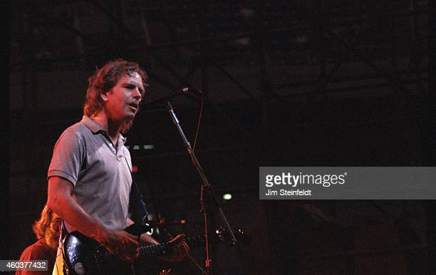 The Grateful Dead with Bob Weir perform on the True Confessions Tour at the Hubert H Humphrey Metrodome in Minneapolis Minnesota on July 26 1986