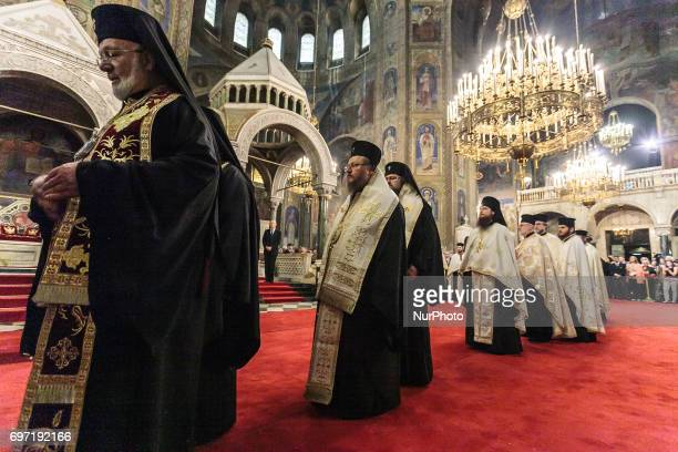 The grateful prayer for the 80th birthday of HH Tsar Simeon II was personally headed by the Bulgarian patriarch Neofit at Sofia Bulgaria on 16th of...