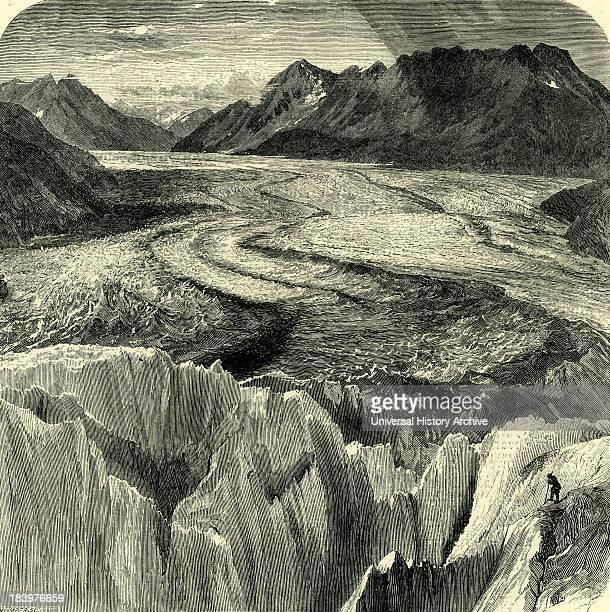 The Great Aletsch Glacier Switzerland