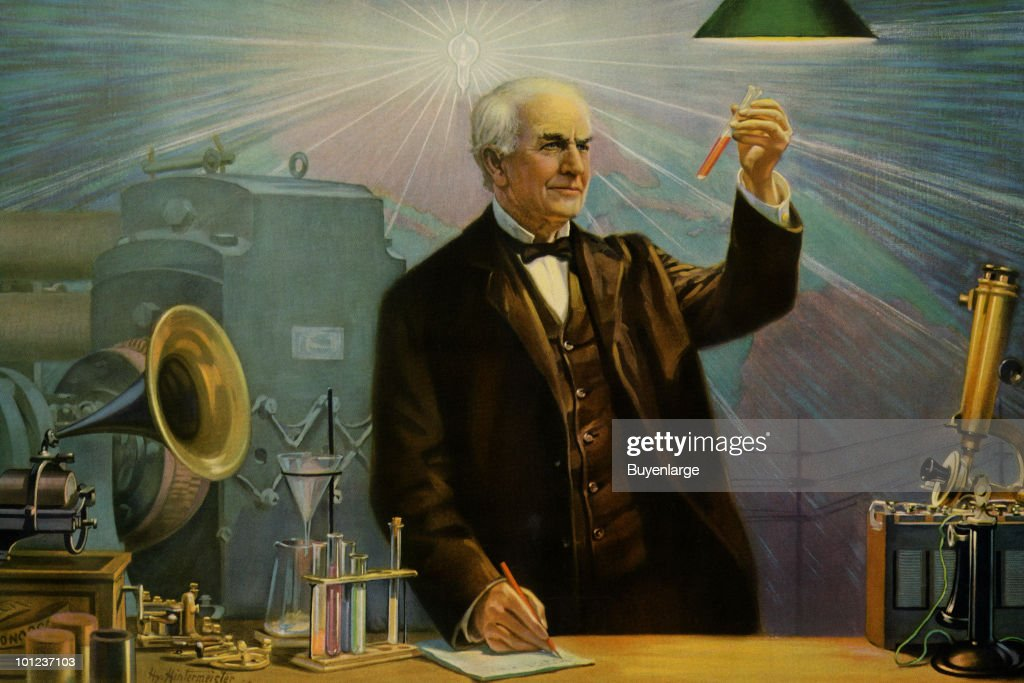 80 Years Since Thomas Edison 39 S Death Getty Images