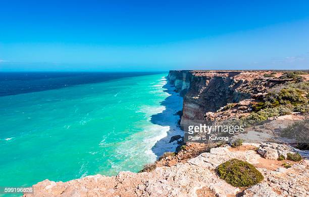 The Great Australian Bight, on the coastline of South and Western Australia.