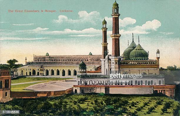 The Great Embambara Mosque Lucknow' circa 1900 Bara Imambara is an imambara complex in Lucknow the capital city of the state of Uttar Pradesh India...