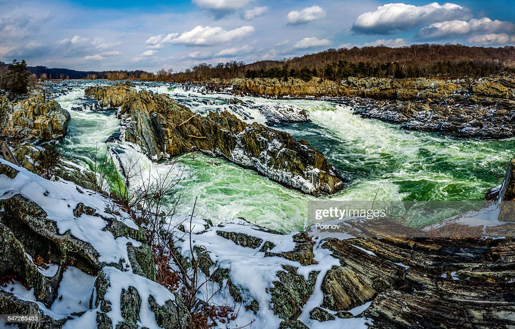 The Great Falls of the Potomac, Virginia