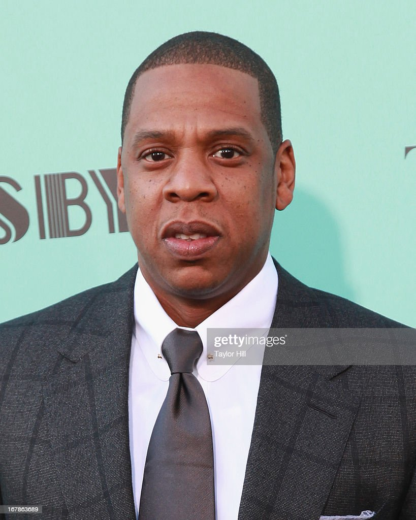 'The Great Gatsby' musical director Shawn 'Jay-Z' Carter attends 'The Great Gatsby' world premiere at Alice Tully Hall at Lincoln Center on May 1, 2013 in New York City.