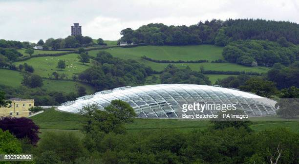 The Great Glasshouse at the National Botanic Garden of Wales with Paxton's Tower on the top of the hill The 433 million project will be first...