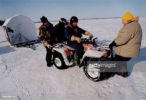 Hunter reid stock photos and pictures getty images for Ice fishing derby