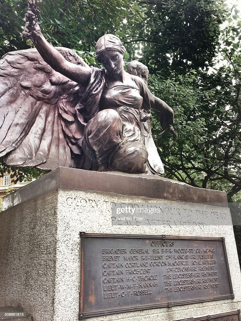 The Great Loss. War Memorial in central Leicester