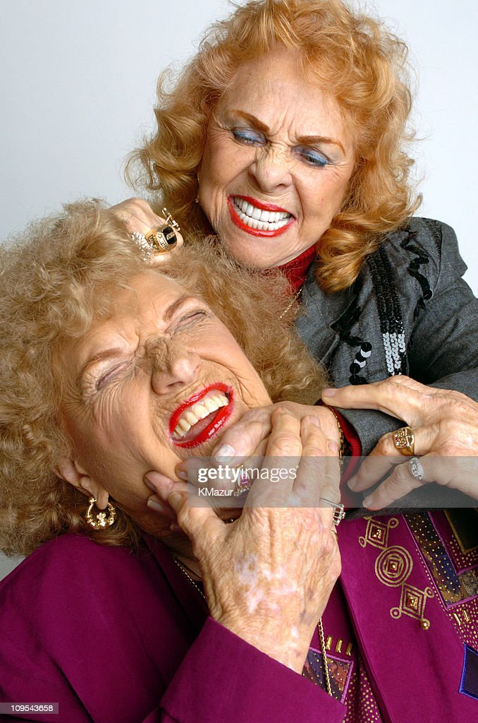The Great Mae Young and The Fabulous Moolah during 3rd Annual Tribeca ...