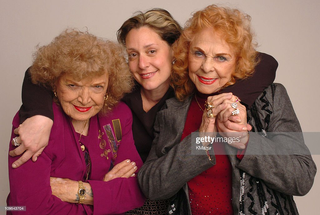The Great <a gi-track='captionPersonalityLinkClicked' href=/galleries/search?phrase=Mae+Young&family=editorial&specificpeople=12342111 ng-click='$event.stopPropagation()'>Mae Young</a>, Ruth Leitman, director and <a gi-track='captionPersonalityLinkClicked' href=/galleries/search?phrase=The+Fabulous+Moolah&family=editorial&specificpeople=2656770 ng-click='$event.stopPropagation()'>The Fabulous Moolah</a>