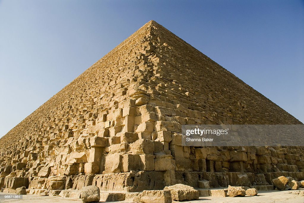 The Great Pyramid of Giza at Cairo, Egypt