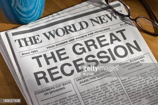 O grande Recessão