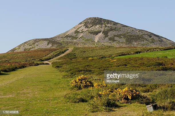The Great Sugar Loaf Mountain south of Dublin in the Wicklow Mountains County Wicklow Ireland